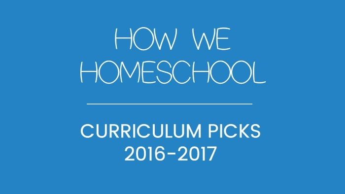 Curriculum Picks 2016-2017