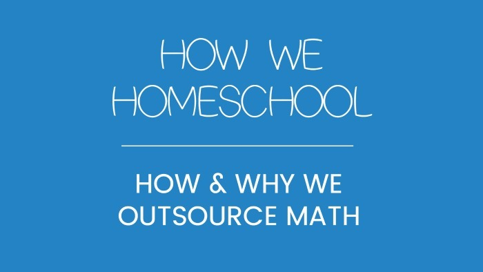 How & Why We Outsource Math