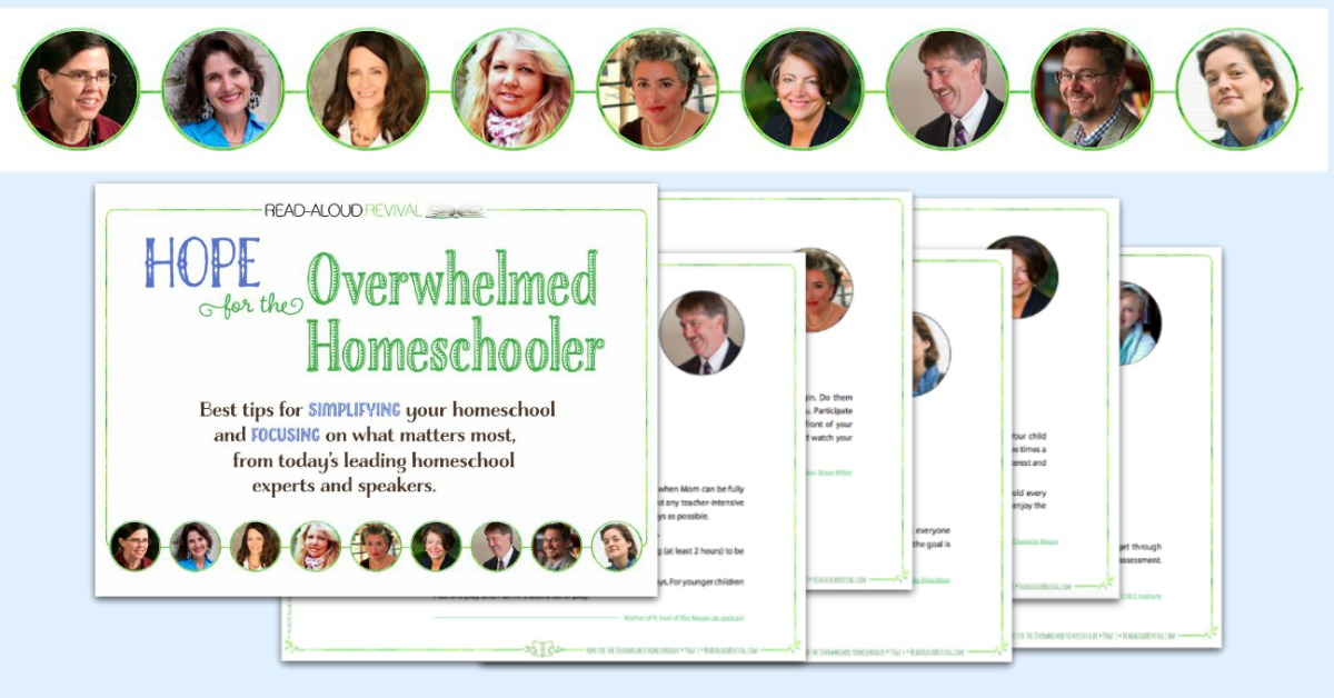 Get the free best tips on simplifying your homeschool from today's leading experts