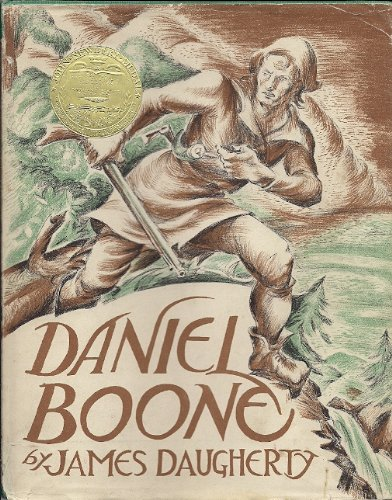 Daniel Boone with Original Lithographs in Color by the Author