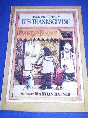 It's Thanksgiving by Prelutsky, Jack; Hafner, Marilyn published by Scholastic Paperbacks Paperback