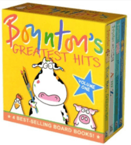 Boynton's Greatest Hits : Moo, Baa, La La La!, A to Z, Doggies, Blue Hat, Green Hat