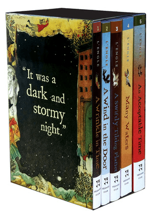 The Wrinkle in Time Quintet Boxed Set (A Wrinkle in Time, A Wind in the Door, A Swiftly Tilting Planet, Many Waters, An Acceptable Time)