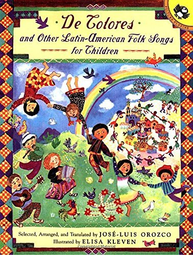 De Colores and Other Latin American Folksongs for Children (Anthology) (Spanish Edition)
