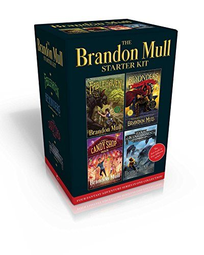 The Brandon Mull Starter Kit: Fablehaven; A World Without Heroes; The Candy Shop War; Sky Raiders
