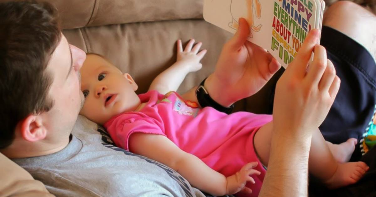 Reading aloud to babies