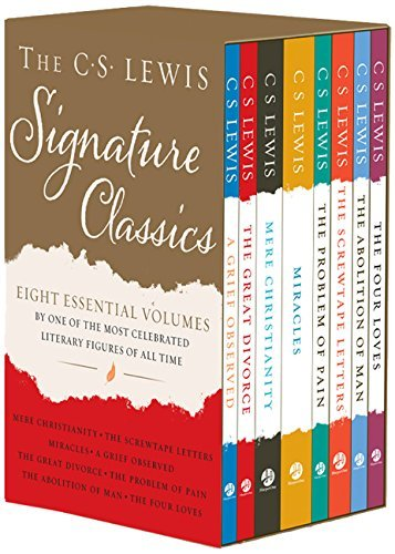 The C. S. Lewis Signature Classics (8-Volume Box Set): An Anthology of 8 C. S. Lewis Titles: Mere Christianity, The Screwtape Letters, Miracles, The … The Abolition of Man, and The Four Loves