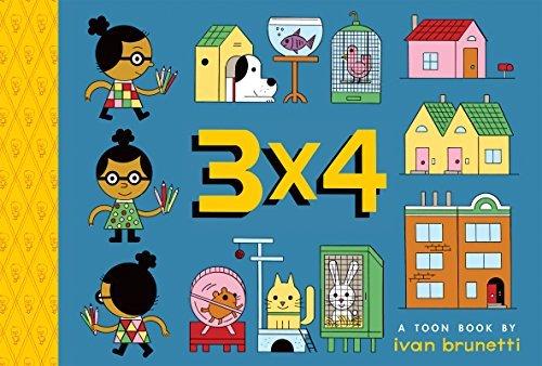 3×4: TOON Level 1 (TOON Books)