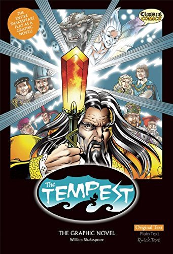 The Tempest The Graphic Novel (American English, Original Text)