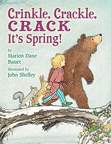 Crinkle, Crackle, CRACK: It's Spring!
