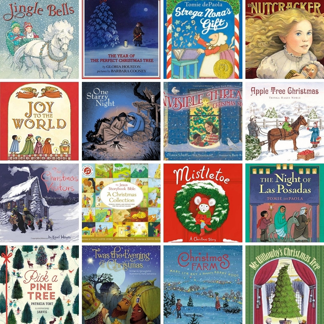 Christmas Booklists And Resources From Read Aloud Revival Read Aloud Revival With Sarah Mackenzie