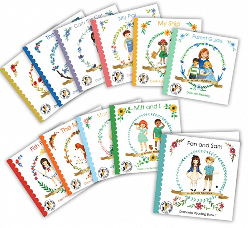 Dash Into Learning, Reading Set 1
